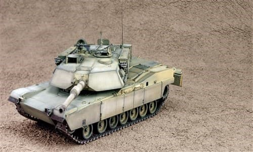 Танк  M1 A1 ABRAMS (1:35) - фото 21565