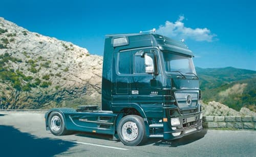 Автомобиль  MERCEDES BENZ Actros Black Edition (1:24) - фото 21571