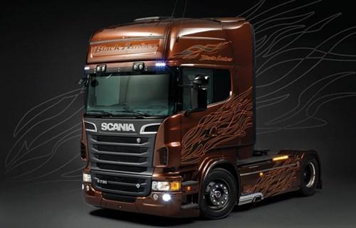 Автомобиль  Scania R730 Black Amber - фото 21798