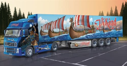 "Автомобиль  Volvo Fh16 Xl ""Viking"" With Reefer Trailer - фото 21840"