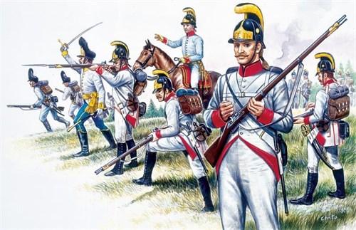 Солдаты  AUSTRIAN INFANTRY (NAP.WARS) (1:72) - фото 21874