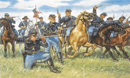 Солдаты  UNION CAVALRY (AMERICAN CIVIL WAR) (1:72) - фото 21910