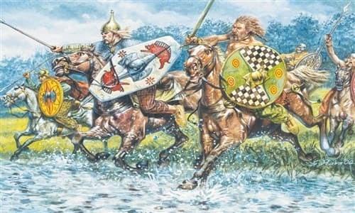 Солдаты  CELTIC CAVALRY   (I-II CENTURY B.C.) (1:72) - фото 21949