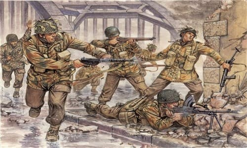 Солдаты  WWII- BRITISH PARATROOPERS RED DEVILS (1:72) - фото 21959