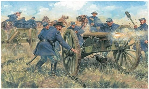 Солдаты  Union Artillery (AMERICAN Civil War) (1:72) - фото 21964