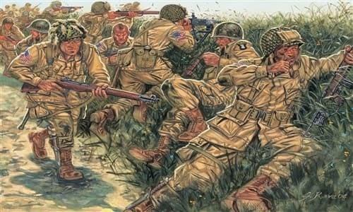 Солдаты  WWII - US PARATROOPERS (1:72) - фото 21999