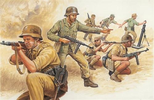 Солдаты  WWII- GERMAN AFRIKA CORPS (1:72) - фото 22010