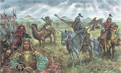 Солдаты  MONGOL CAVALRY (XIIIth CENTURY) (1:72) - фото 22031
