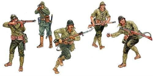 Солдаты  WWII- JAPANASE INFANTRY (1:72) - фото 22044