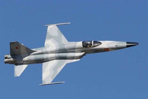 """Истребитель F-5e """"Агрессор"""" (1:72) - фото 22069"""