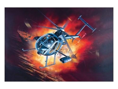 Вертолет-невидимка МН-6 (1:48) - фото 22071