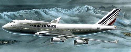 """Самолет Боинг 747-400 """"Эйр Франс"""" (1:300) - фото 22078"""