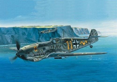 Истребитель Мессершмитт Bf-109E (1:72) - фото 22084