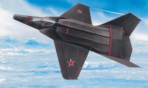 "Советский ""самолет-невидимка"" М-37 (1:72) - фото 22092"