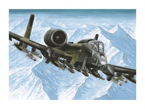 """Штурмовик A-10А """"Тандерболт"""" II (1:72) - фото 22093"""