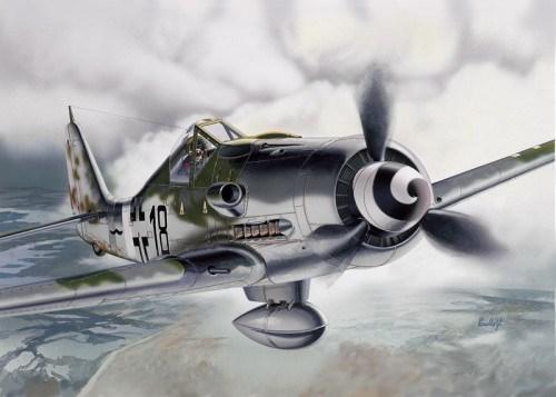 Самолет  FW 190 D-9 (1:72) - фото 22115