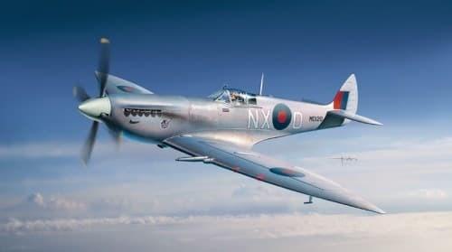 Самолет SpitFire F/Mk.VII - фото 22121