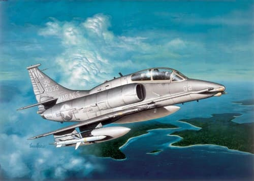 Самолет Oa-4M Skyhawk - фото 22301