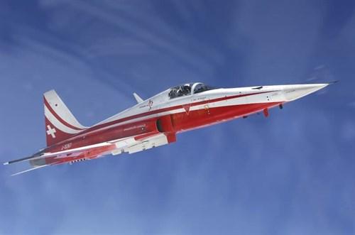 Самолет  F-5E PATROUILLE SUISSE (1:72) - фото 22363