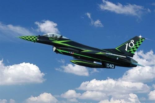 """Самолет  F-16A """"Special colors"""" (1:72) - фото 22392"""