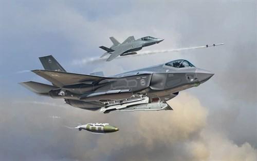 Самолет  F-35A LIGHTNING II (1:72) - фото 22457