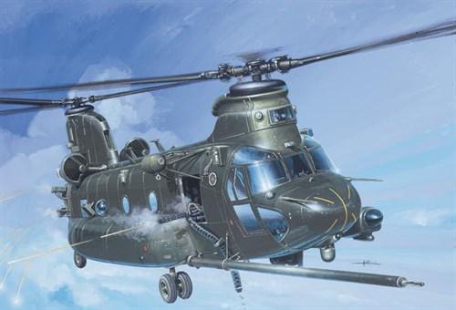 Вертолет  MH-47 E SOA CHINOOK (1:72) - фото 22494