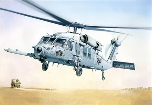 Вертолет  MH-60K BLACKHAWK SOA (1:48) - фото 22495