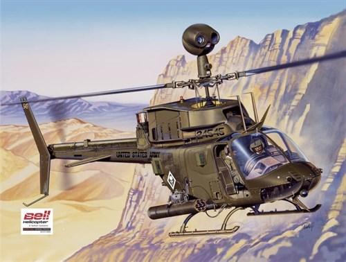 Вертолет  OH-58D KIOWA (1:48) - фото 22496