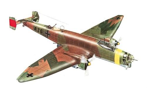 Самолет  JU 86 D (1:72) - фото 22521