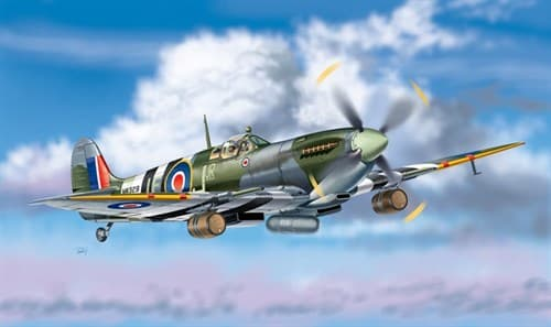 "Самолет  SPITFIRE Mk.IXc ""BEER TRUCK"" (1:48) - фото 22593"