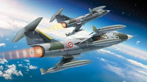 Самолет  F-104G/S STARFIGHTER (1:32) - фото 22923
