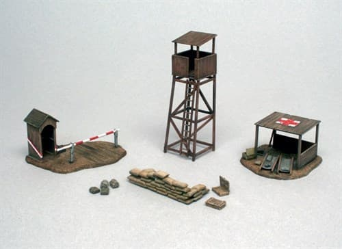 Диорама  Battlefield Buildings (1:72) - фото 23058