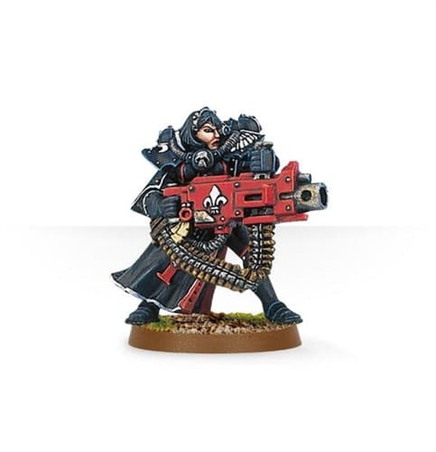 Battle Sister with Heavy Bolter - фото 23200