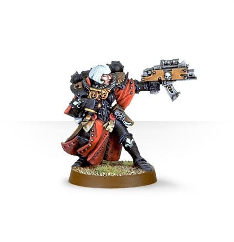 Sisters of Battle Superior with Bolter - фото 23202