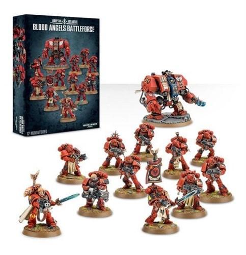 Боевая Группа Кровавых Ангелов (Blood Angels Battleforce) - фото 23352