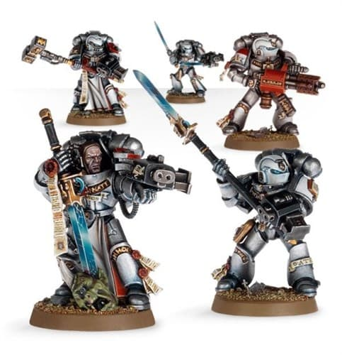 Grey Knights Purifier Squad - фото 23421