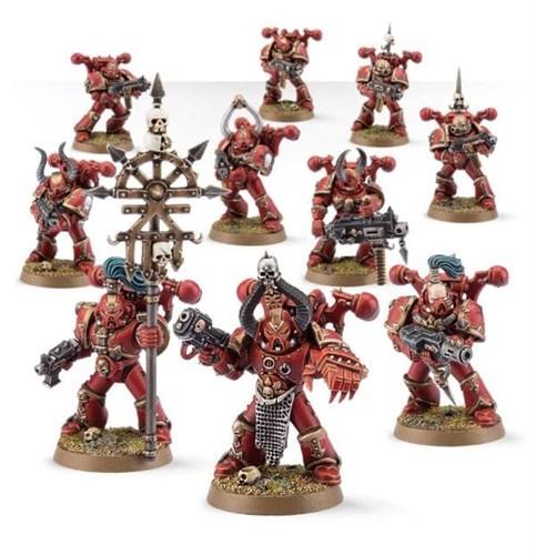 Chaos Space Marine Squad - фото 23480