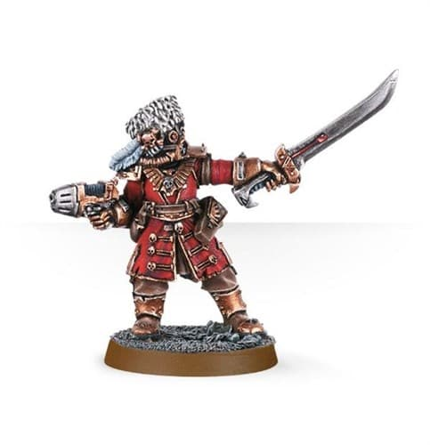 Vostroyan Commander with Power Sword - фото 23695