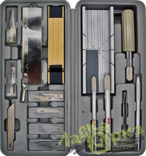 Набор ножей с цанговым зажимом, 30 предметов - фото 23737