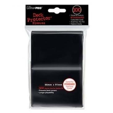 """Протекторы """"Ultra-Pro"""" (разноцветные, 100 шт., 66мм*91мм): черные - фото 23821"""