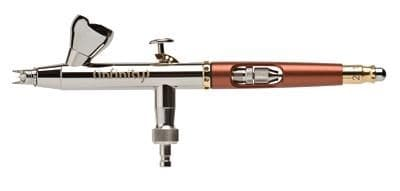 Аэрограф H&S Infinity  (2 в 1, сопло 0,15+0,4 мм, бачок 2мл+5мл) HS-126543 126543