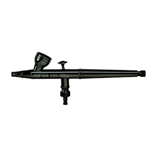 Аэрограф Hansa 281-автомат  black (сопло 0.2 мм) HS-212815 212815