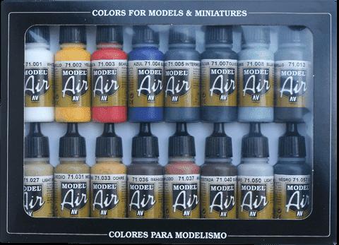 Набор Model Air   Базовые цвета (16цв.) a71178 71178