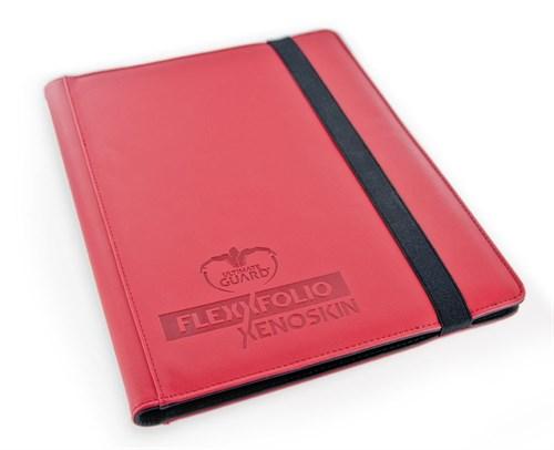 Ultimate Guard - Альбом премиум гибкий на 360 карт красный (3х3) UGD010204 010204