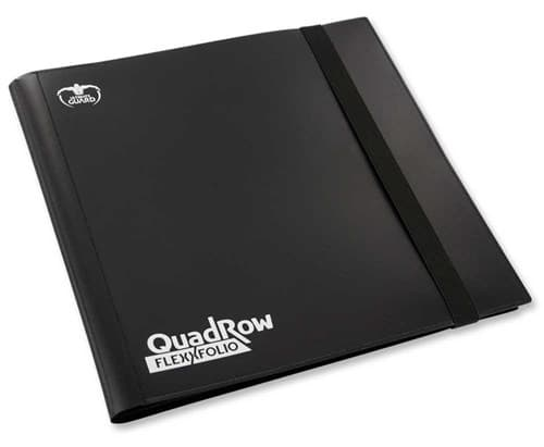 "Ultimate Guard - Альбом ""Квадро""  на 480 карт черный (4х3) UGD010345 010345"