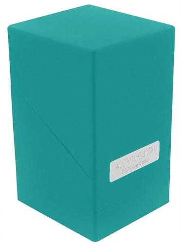 """Ultimate Guard - Коробочка """"Монолит"""" с отделением для кубиков цвета морской волны UGD010341 010341"""