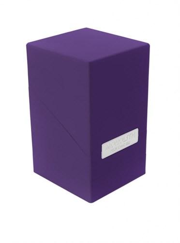 """Ultimate Guard - Коробочка """"Монолит"""" с отделением для кубиков фиолетовая UGD010325 010325"""