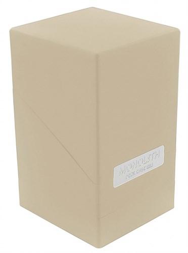 """Ultimate Guard - Коробочка """"Монолит"""" с отделением для кубиков песочная UGD010340 010340"""