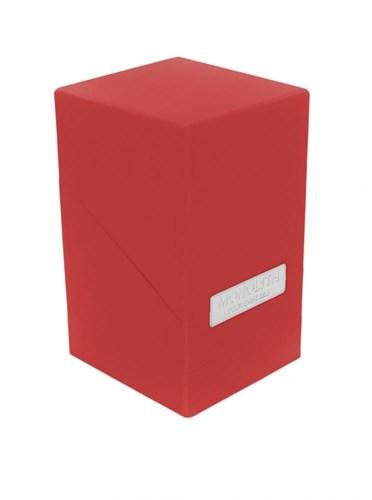 """Ultimate Guard - Коробочка """"Монолит"""" с отделением для кубиков красная UGD010235 010235"""