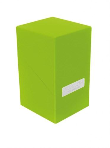"""Ultimate Guard - Коробочка """"Монолит"""" с отделением для кубиков светло-зеленая UGD010326 010326"""